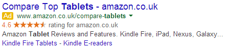 Tablets - Google Ad