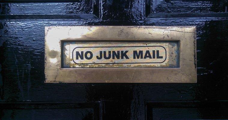 Junk Mail Letterbox
