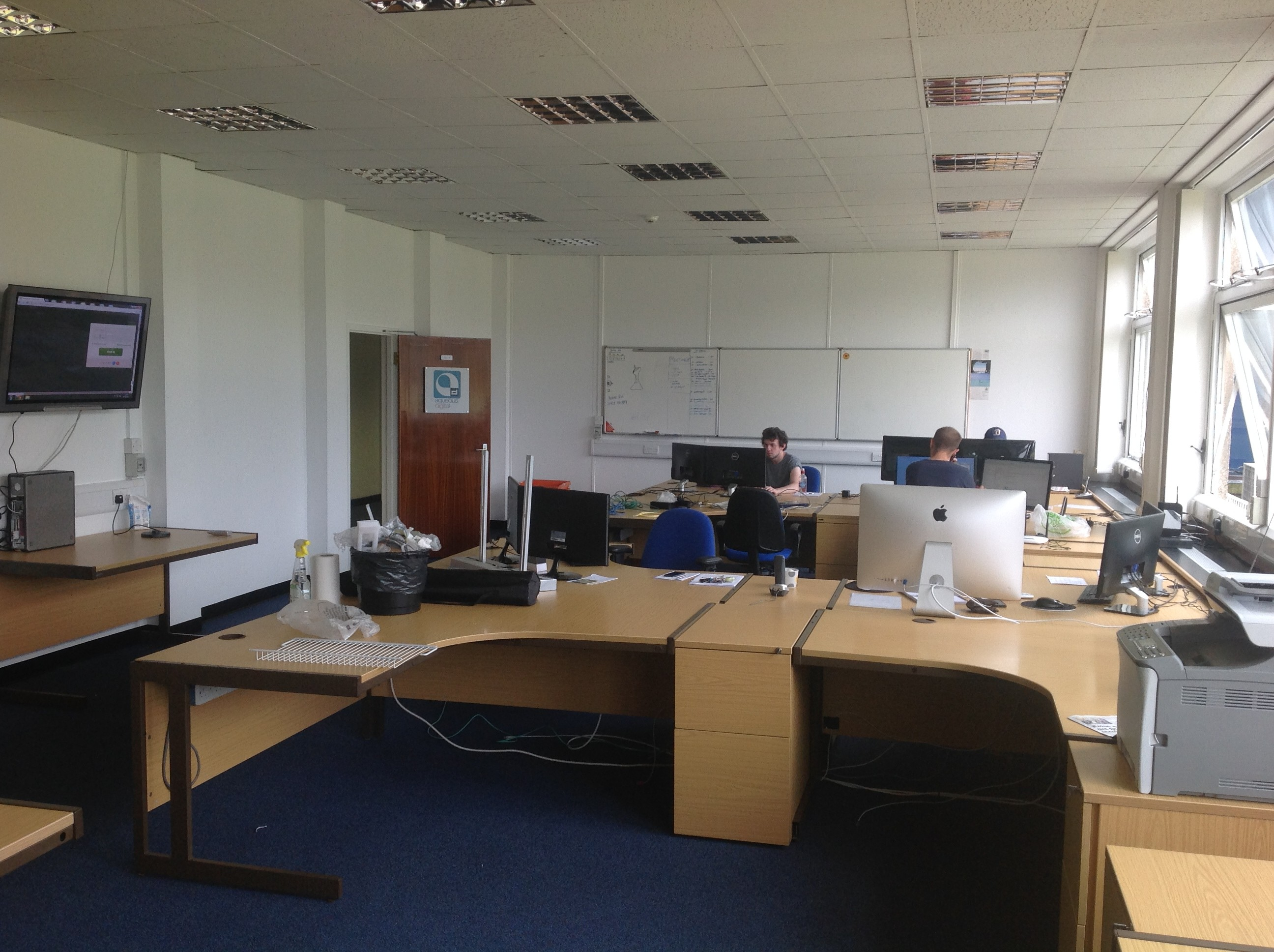 Aqueous New office settling in August 2014