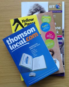 Thomson, Yellow Pages & BT Directories
