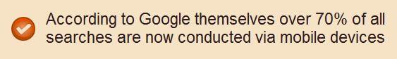 Google mobile penalty lies