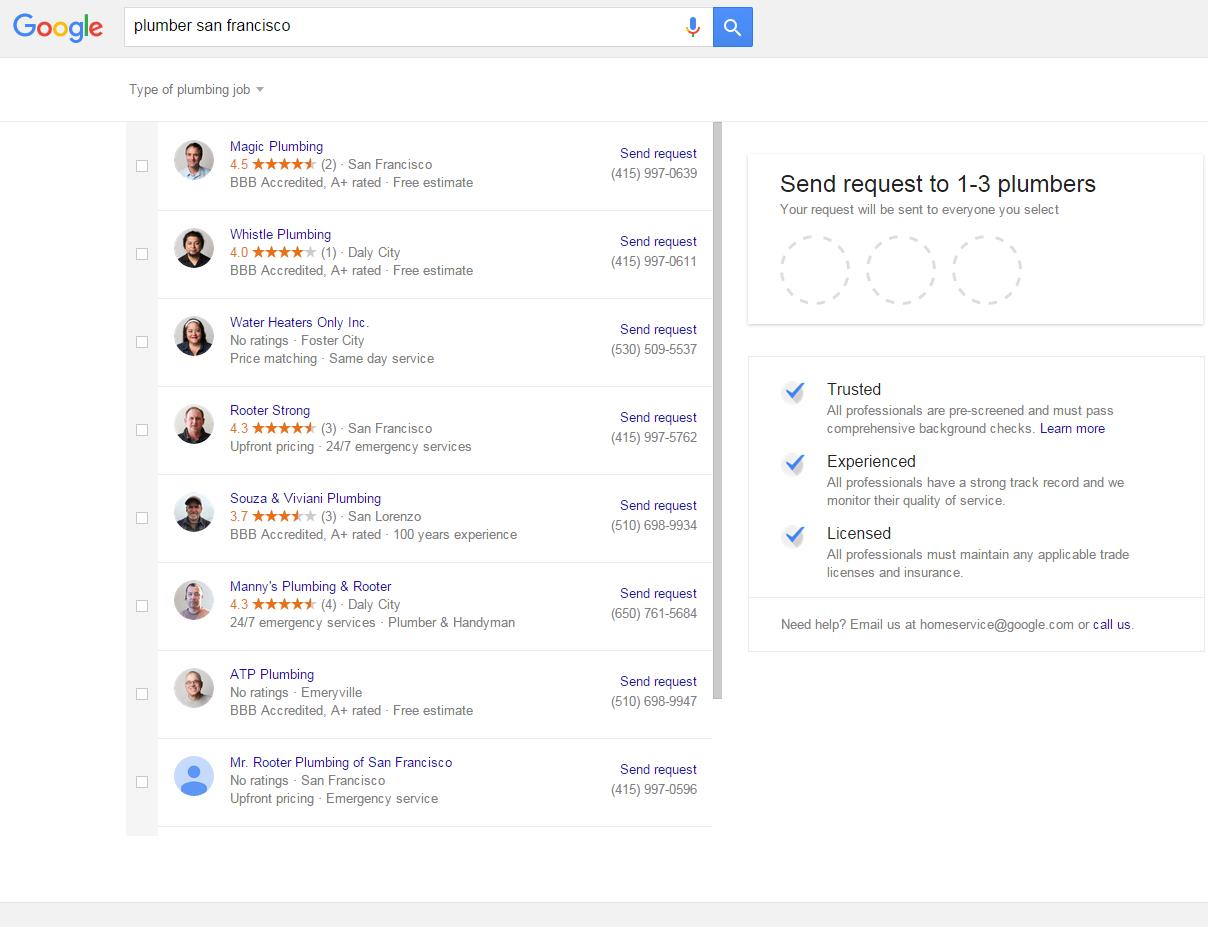 Google Home Services 6