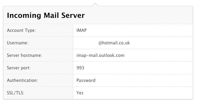 How to solve the problem of Hotmail stopping working on a Mac 3