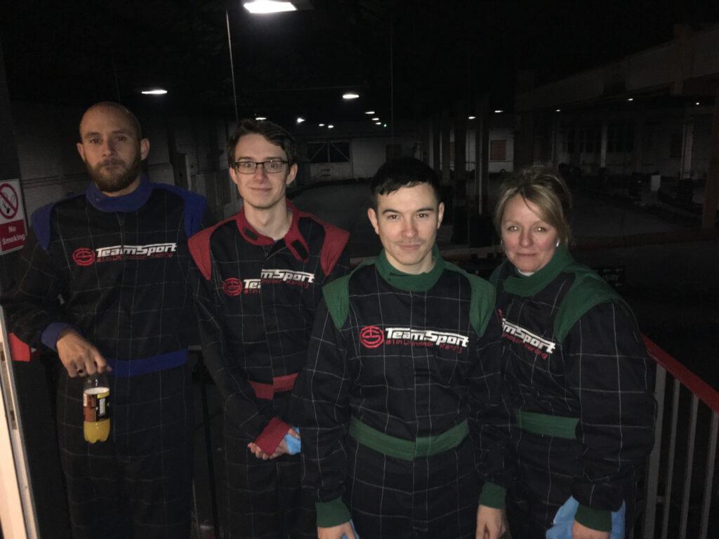 Aqueous Go Karting at Team Sport Warrington