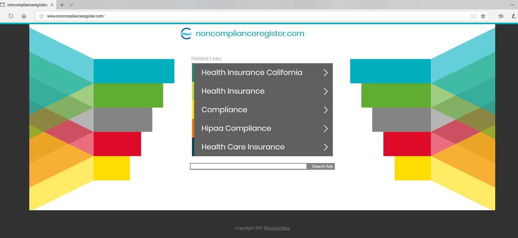 Non Compliance Register website