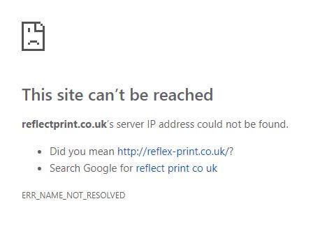 Reflect Print Domain