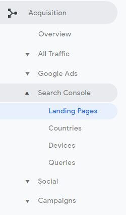 Search Console traffic 3