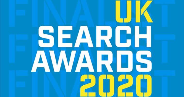 Aqueous receive shortlist nod TWICE at 2020 UK Search Awards