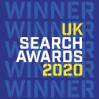 Aqueous Digital UK Search Awards Winners Badge 2020 Home page