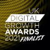 Digital Growth UK 2021 Finalist Badge